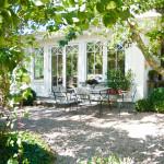 Några bilder från Lilla gröna Viktorias trädgård!