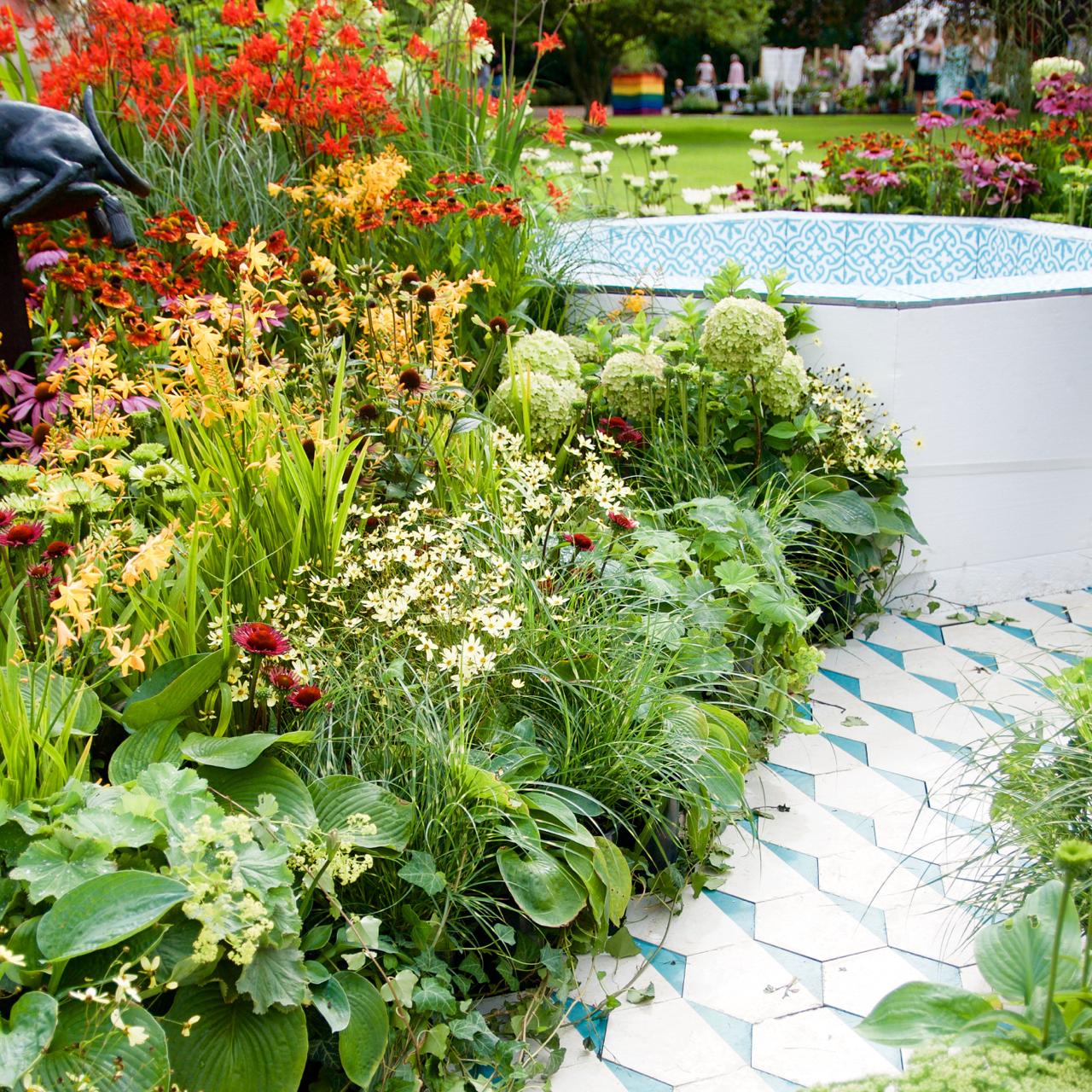 Inspirerande idéträdgård Arkitektens Trädgård