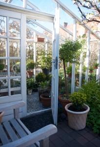 På besök i Christel Kvants ljuvliga radhusträdgård!