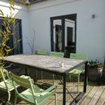Rena utemöbler, ren fasad och fräscht trädäck med Tercol- i samarbete med Tergent
